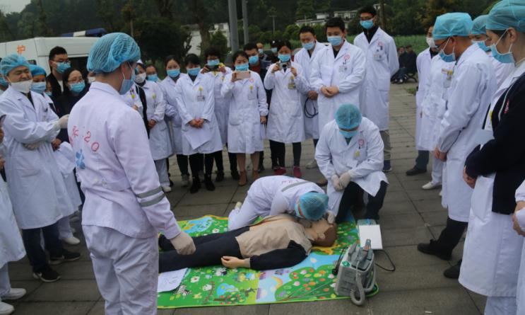 标题:名山区中医医院  组织开展2020年地质灾害